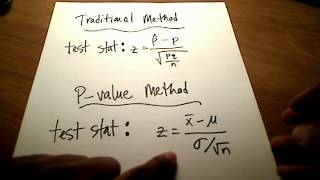 Download Stats: Hypothesis Testing (P-value Method) Video