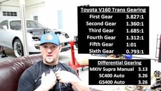 Download Toyota Supra Transmission Options! Video
