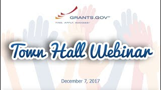 Download Grants.gov Town Hall Webinar: Answering User Questions Video