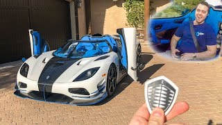 Download I GOT A RIDE IN MY $3 MILLION DREAM CAR!! *Koenigsegg Agera RS* Video