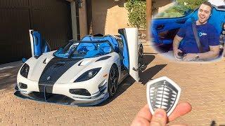 Download I GOT A RIDE IN MY $3 MILLION DREAM CAR!! *Koenigsegg Agera RS* Video