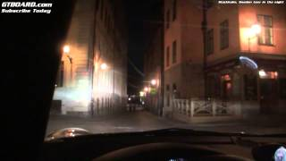 Download Nighttour of Stockholm, Sweden in a Porsche 911 Turbo PDK (997) Video