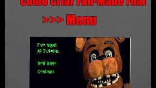 Download Como Criar Fan-Made De Five Nights At Freddys - Menu Video