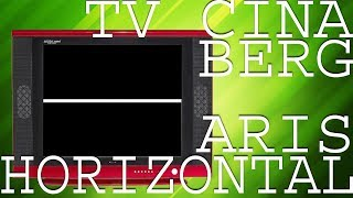 Download cara memperbaiki tv cina bergaris - horizontal Video
