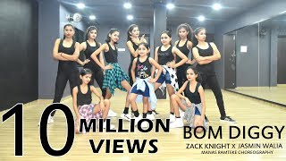 Download Bom Diggy | Zack Knight | Jasmin Walia | Manas Ramteke Choreography | SPARTANZzz Dance Academy Video