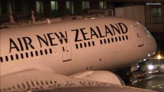Download Air NZ Dreamliner push back at Auckland en-route to Shanghai 22 October 2016 Video