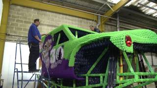 Download Monster Jam's ″Grave Digger″ 30th Anniversary life-size K'NEX Truck Documentary Video