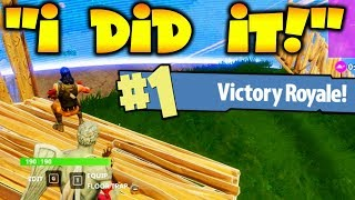 Download HELPING 9 YR OLD WIN *1ST EVER* FORTNITE GAME!!! Video