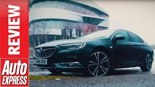 Download Vauxhall Insignia Grand Sport review - can it beat BMW, Audi and Mercedes? Video