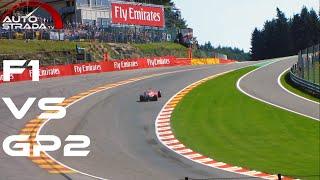 Download 2015 F1 vs GP2 - GP3 & Porsche Supercup - [Eau Rouge Raidillon Comparison] Video
