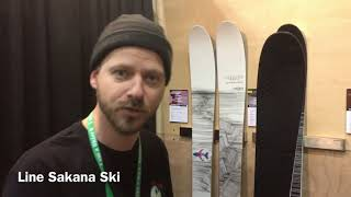 Download Line Skis Sakana by Eric Pollard - Outdoor Retailer 2018 Video