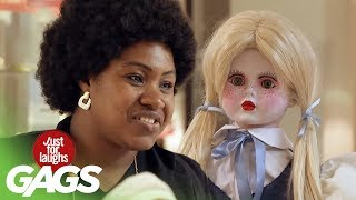 Download Scary Doll Pranks | Best of Just For Laughs Gags Video