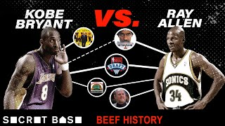 Download Kobe Bryant's beef with Ray Allen was short, but haunted Kobe for years Video