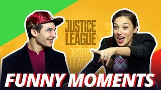 Download GAL GADOT IS A CHEATER - Justice League Cast Funny Moments - 2017 Video