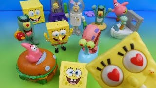 Download 2004 SPONGEBOB SQUAREPANTS THE MOVIE SET OF 12 BURGER KING KID'S MEAL TOY'S VIDEO REVIEW Video
