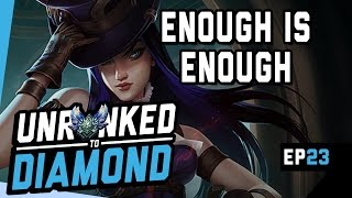 Download ENOUGH IS ENOUGH - Caitlyn Unranked to Diamond Ep 23 (League of Legends) Video
