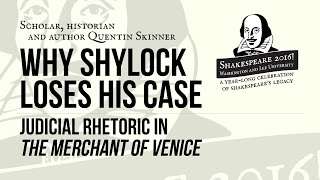 """Download Shakespeare 2016! with Quentin Skinner, """"Judicial Rhetoric in 'The Merchant of Venice'"""" Video"""
