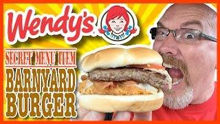 Download Wendy's Secret Menu Item ″The Barnyard Burger″ Review Video