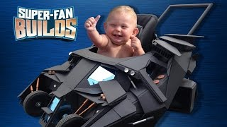 Download Batmobile Baby Stroller (The Dark Knight) - SUPER-FAN BUILDS Video