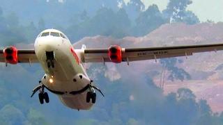 Download Pesawat Terbang ATR 72 Wings Air Take Off (Pesawat Terbang Indonesia) Video