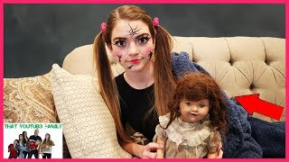 Download The DollMaker Is Turning Jordan Into A Doll! The DollMaker Part 10 (Skit)/ That YouTub3 Family Video