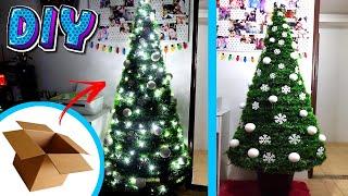 Download Árvore de Natal com papelão - DIY Natal. Video