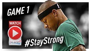 Download Isaiah Thomas Full Game 1 Highlights vs Bulls 2017 Playoffs - 33 Pts, 6 Ast Video