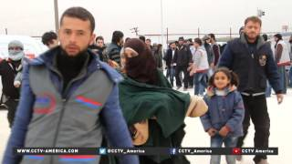 Download Refugee crisis looms as government forces take back eastern Aleppo Video