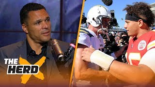Download Tony Gonzalez says Chiefs put the NFL on notice, dysfunctional Steelers and more | NFL | THE HERD Video