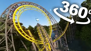 Download VR 360 Roller Coaster Ride 4K - Busch Gardens VR Simulation Video