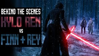 Download Kylo Ren vs Finn & Rey | Behind The Scenes History Video