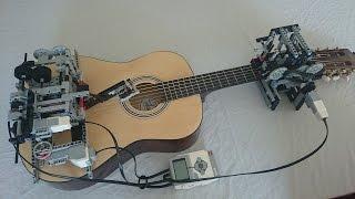 Download Little Talks Guitar Cover by Lego Mindstorms EV3 Video