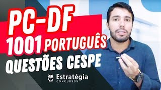 Download PC-DF: Português - 1001 Questões CESPE Video