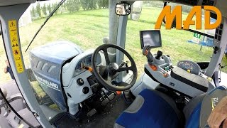 Download New Holland T7.315 Heavy Duty Blue power | comandi cabina Video