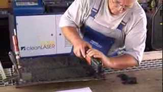 Download Laserreinigung / Entrosten /Bitumen /Cleanlaser Video