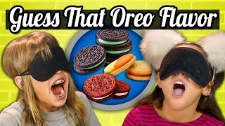 Download GUESS THAT OREO CHALLENGE! (Kids Vs. Food) Video