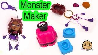 Download Monster High Maker Machine Create A Clawdeen Wolf Mini Doll Craft Toy Playset - Cookieswirlc Video Video