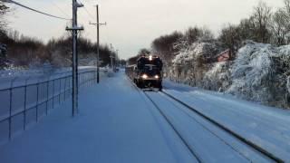 Download Staten Island Railway Diesel Train Video