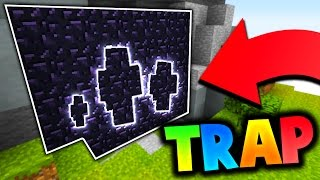 Download THE BEST OBSIDIAN TRAP EVER?! (Minecraft Bed Wars) Video