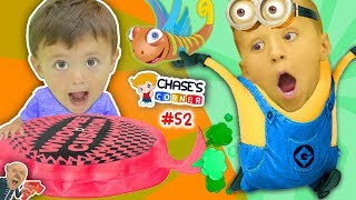 Download Chase's Corner: PLAYING GAMES w/ my BROTHERS! Despicable Me Gru Shrinks Us 2 Toilet #52 Doh Much Fun Video