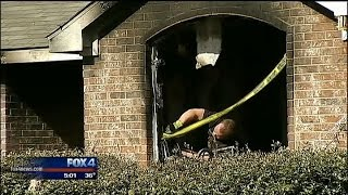 Download Christmas tree causes house fire Video