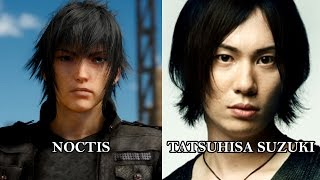 Download Characters and Voice Actors - Final Fantasy XV (English & Japanese) Video