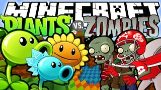 Download Minecraft Plants Vs Zombies! (Minecraft Cubes Vs Zombies) Video