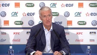 Download L'annonce de liste et la conférence de presse de Didier Deschamps en replay I FFF 2018-2019 Video