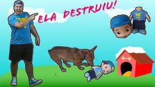 Download LUCCAS NETO [Boneco do luccas Neto Ficou Destruido!] Video