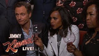 Download Jimmy Kimmel Toasts the Cast of Scandal After Series Finale Video