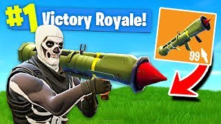 Download *NEW* LEGENDARY GUIDED MISSILE LAUNCHER Gameplay In Fortnite: Battle Royale Video