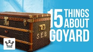 Download 15 Things You Didn't Know About GOYARD Video
