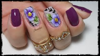Download Modelinho floral de unhas decoradas Video