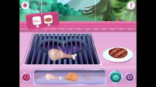 Download Minnie's Mouse Grill Station in Food Truck - Disney App| Chicken & Tomato Video